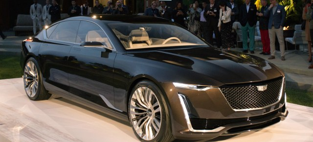 8/22/16 O&A NYC AUTOMOBILE: Cadillac Escala Concept Car Revealed