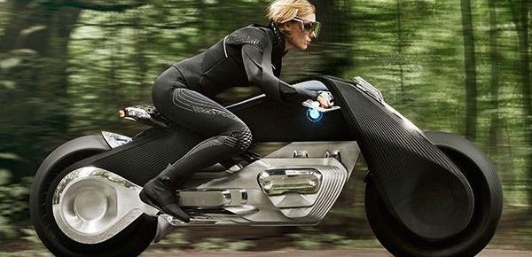 10/12/16 O&A NYC AUTOMOBILE: BMW Shows Us the Future With The Motorrad Vision Next 100 concept
