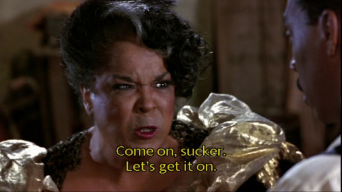 10/17/16 O&A NYC HOLLYWOOD MONDAY: Harlem Nights- Eddie Murphy and Della Reese Fight Scene