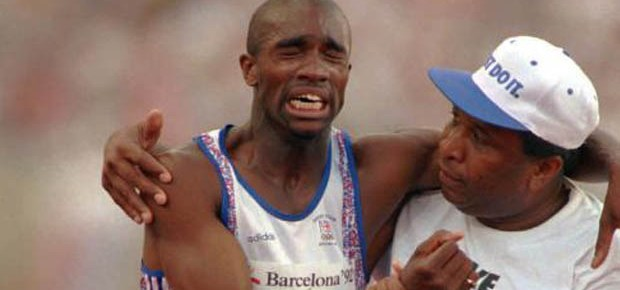 11/22/16 O&A NYC INSPIRATIONAL TUESDAY: The Derek Redmond Story (Video by Connie Lynne) When you don't give up..You cannot fail!