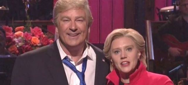 11/7/16 O&A NYC COMEDY: Alec Baldwin and Kate McKinnon Break Character- SNL