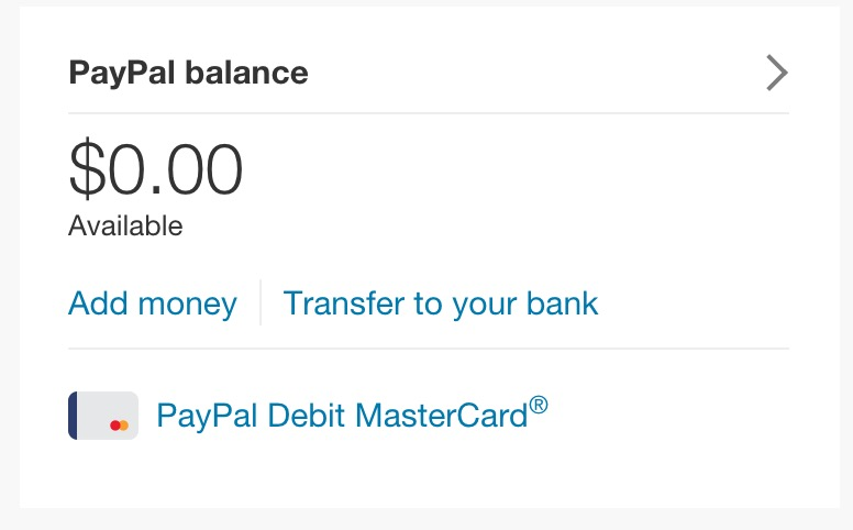 How to pay bills with PayPal My Cash Business Debit Card