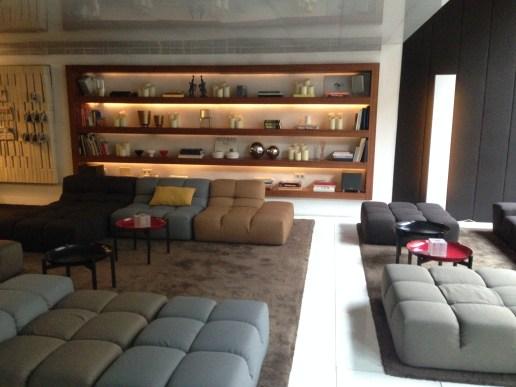 Lobby of the Alexandra Doubletree Barcelona