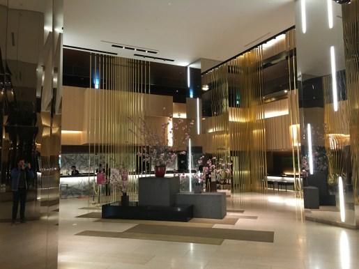 Lobby of the ANA Crowne Plaza Osaka