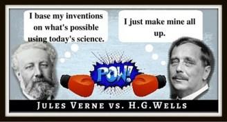 C Jules Verne vs. H.G.Wells (2)