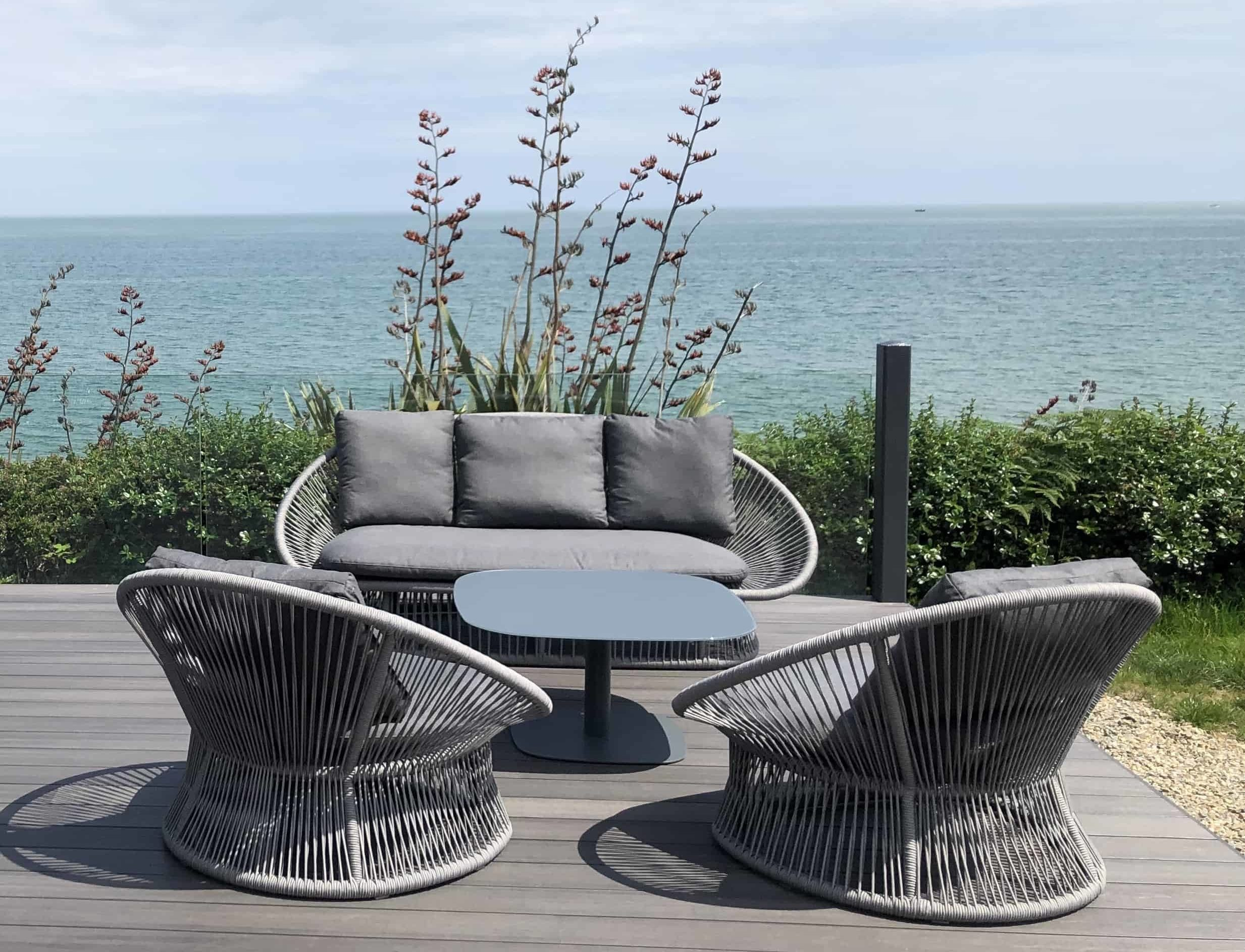 Spade Alu Round Rope Outdoor Furniture Collection Garden Furniture Garden Sofa Sets And Lounging Garden Furniture Barbecues Outdoor Ie