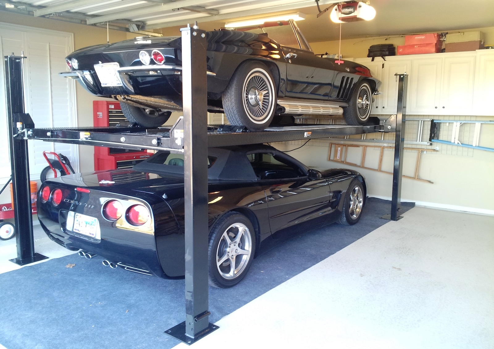 The Best Car Lift For Your Home Garage 2 4 Post Lifts