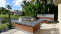 Ultra Modern Outdoor Kitchen Table & Bench | OUTDOOR ...