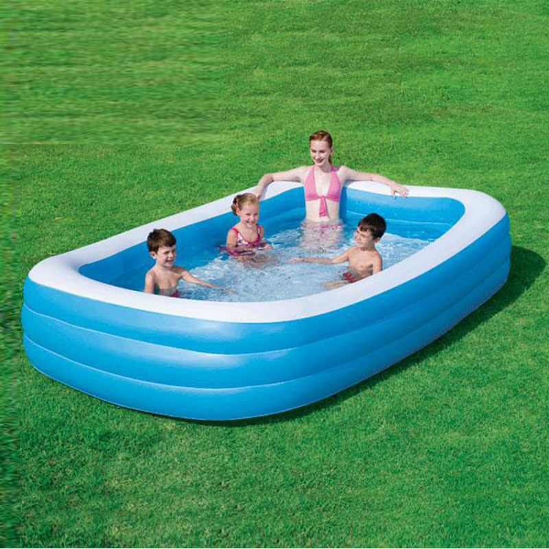 Frame Zwembad Bestway Bestway Deluxe Family Rectangular Pool | Outdoor Fun