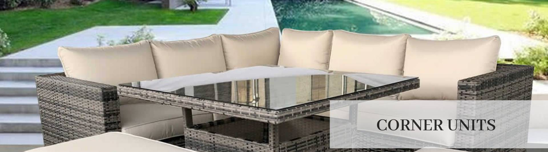 Rattan Corner Sofa Ireland Garden Corner Units Outdoor Corner Sofa Sets