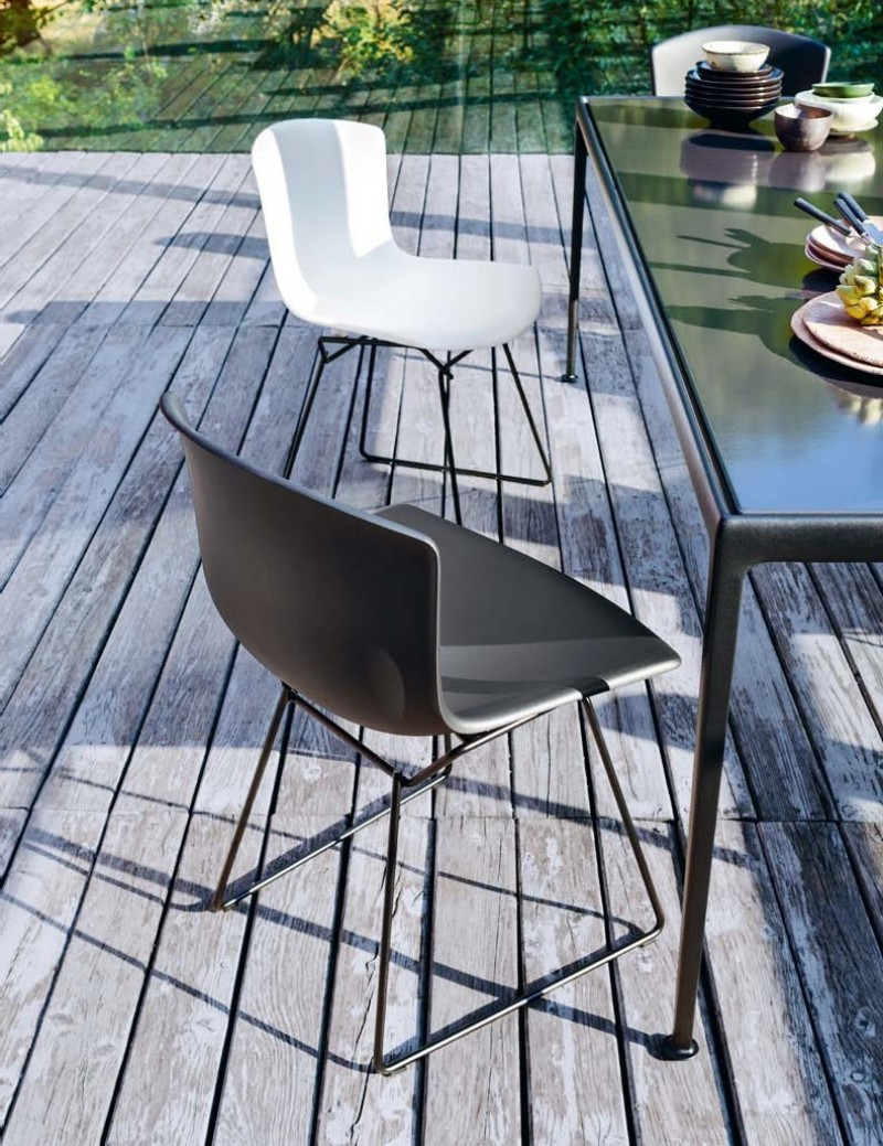 Outdoor Knoll Bertoia Side Chair 1952