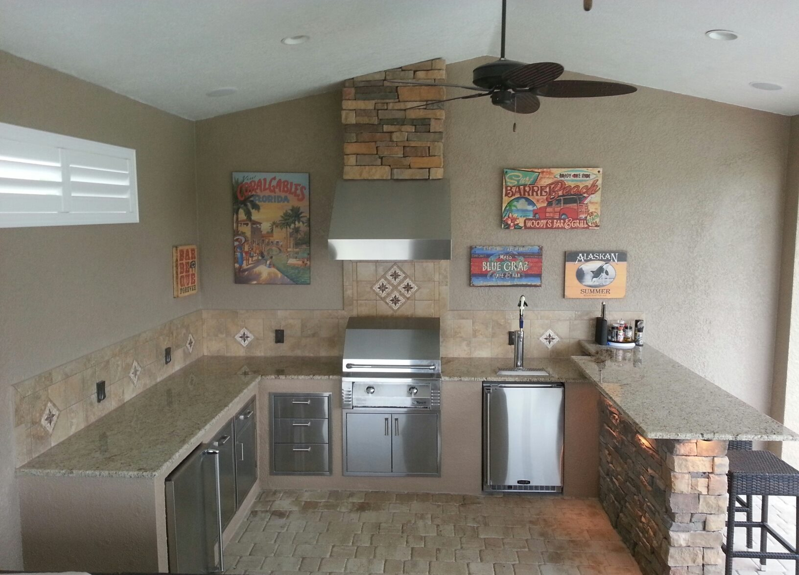 outdoorkitchencreations kitchen cabinets okc More than an island an OKC outdoor kitchen is a permanent seamless extension of your home that is built to last a lifetime Constructed from a patented