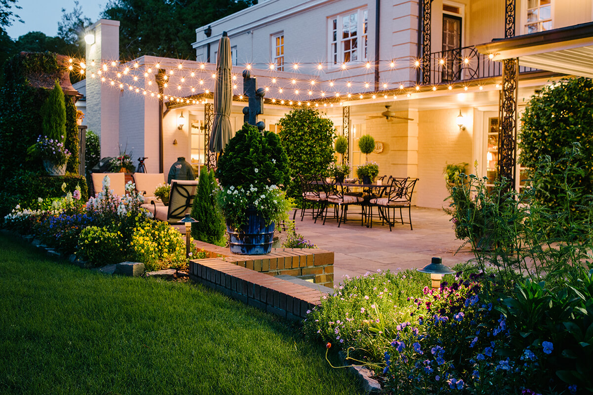Charlotte Exterior Lighting Outdoor Lighting Perspectives