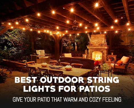 Best Outdoor String Lights For Patios And Gazebos