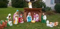 nativity christmas decorations outdoor ...