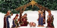 Nativity Lighted Outdoor Christmas Decoration ...