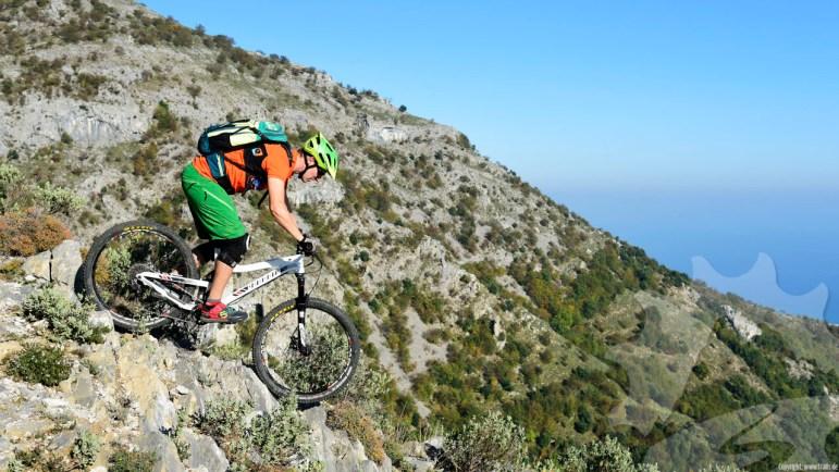 Spass auf den Finale Ligure Trails