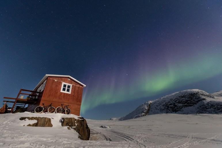 Grönland und seine Polarlichter @Martin Bissig