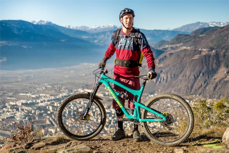 Santa-Cruz-Fahrer Jasper Jauch