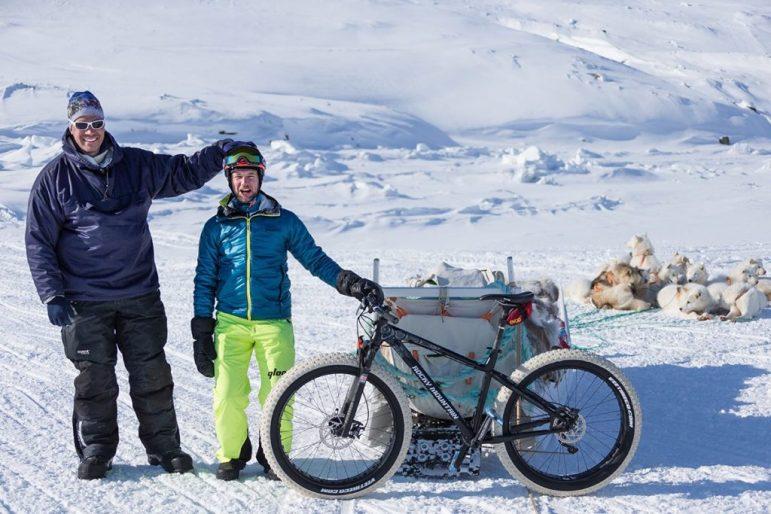 Guide Jens Erik und Claude Balsiger @Martin Bissig