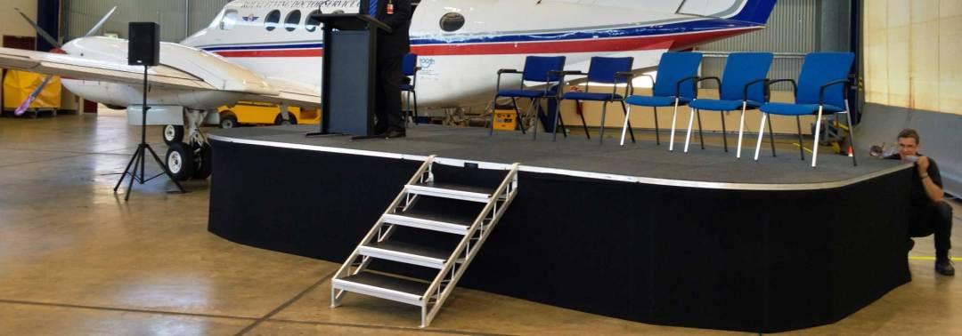 Trailer-Stage-At-Irwin-Event