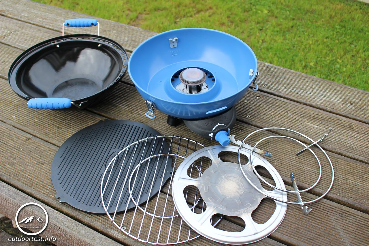 Campinggaz Grill Campingaz Partygrill 400 Outdoortest Info Tested In Nature