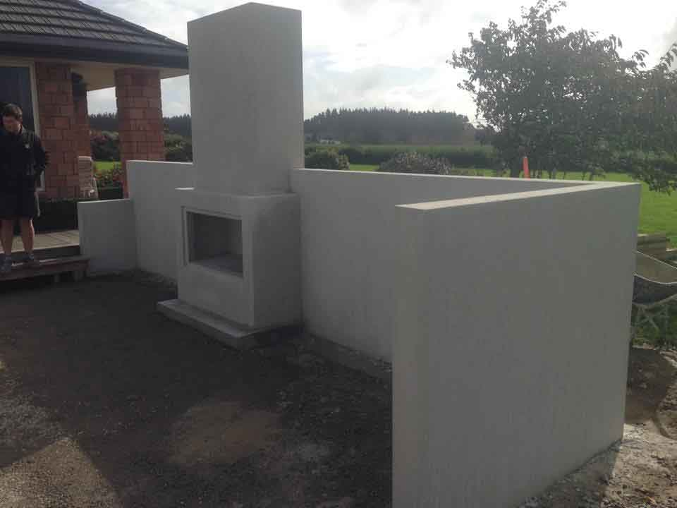 Concrete Walls And Concrete Retainers In Palmerston North