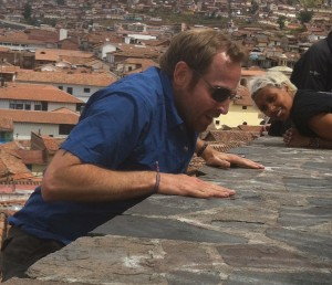 Our hero in Cusco!