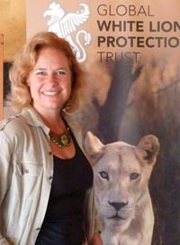 Linda Tucker as Keeper of the White Lions