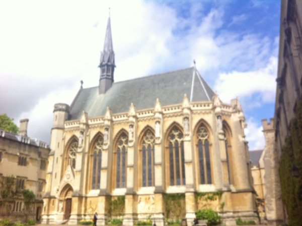 Exeter College chapel