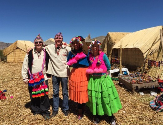 On the Floating Islands of Uros