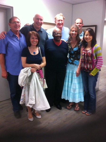 Inspirational Meeting with Desmond Tutu in Cape Town South Africa