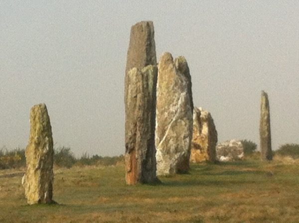 Megaliths near Saint Just, Brittany