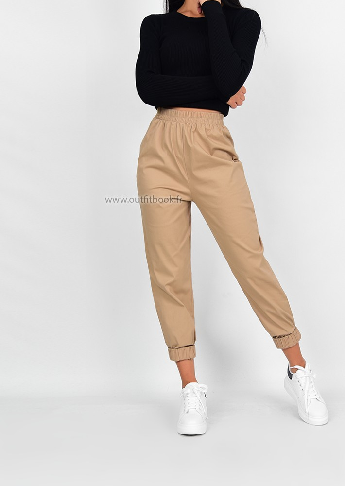Porte Vetement But Pantalon De Jogging Beige - Outfitbook
