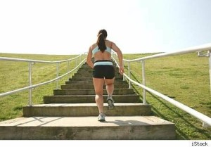 Sydney Stair Running Workout