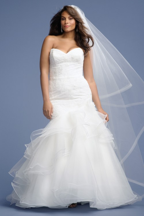 Medium Of Wedding Dresses For Plus Size