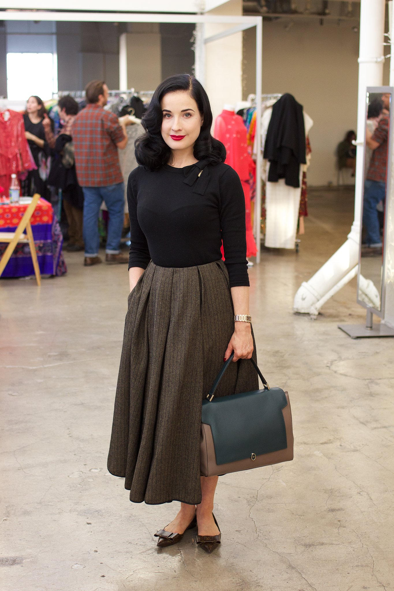 Look Retro Dress Up Like Dita Von Teese Outfit Ideas Hq