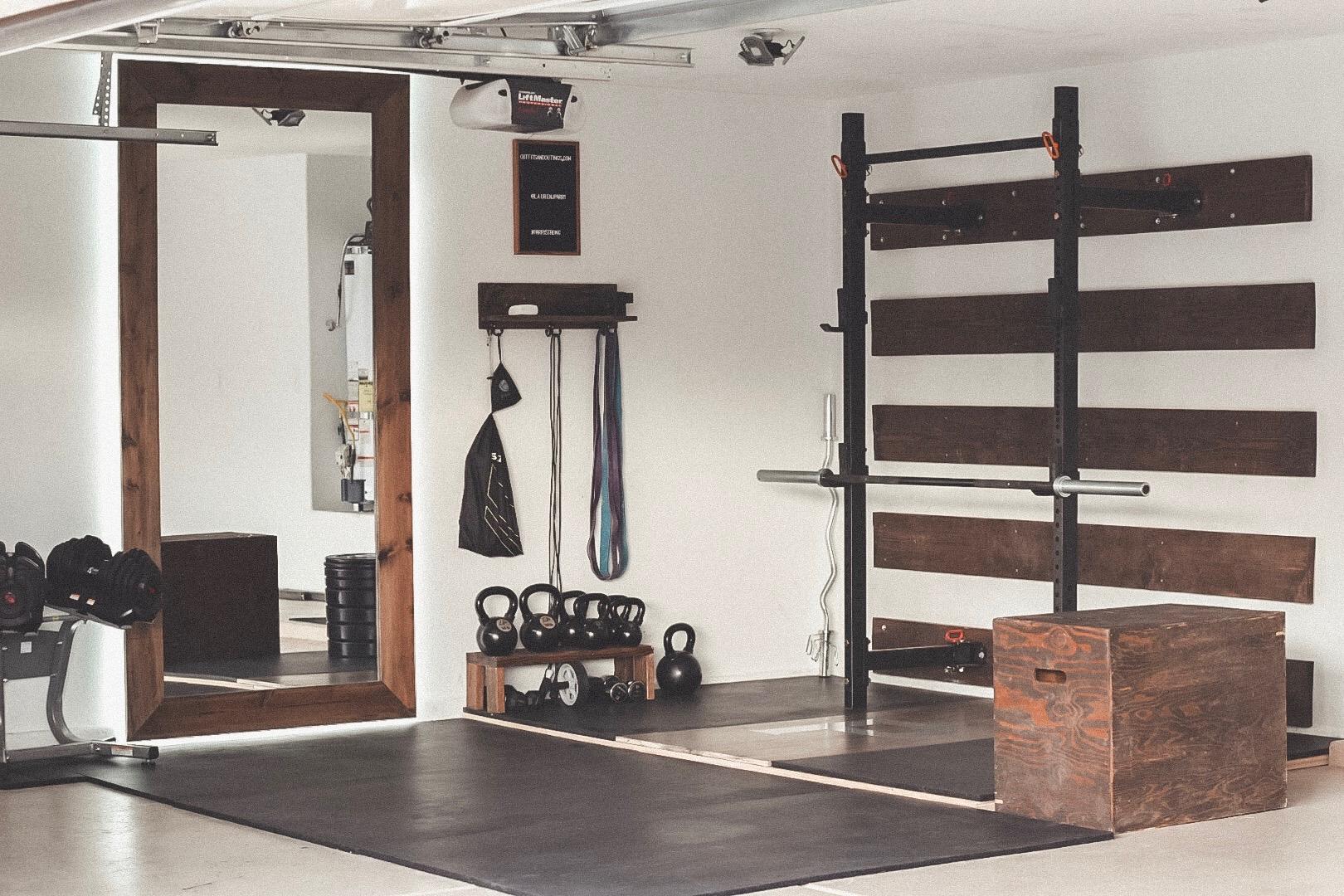 Garage gym ideas garage plans with lift also diy garage gym ideas