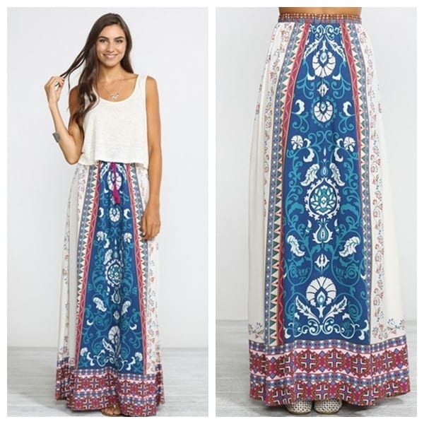 70er Outfit Hippie Skirts Outfits - 16 Ideas How To Wear Hippie Skirts