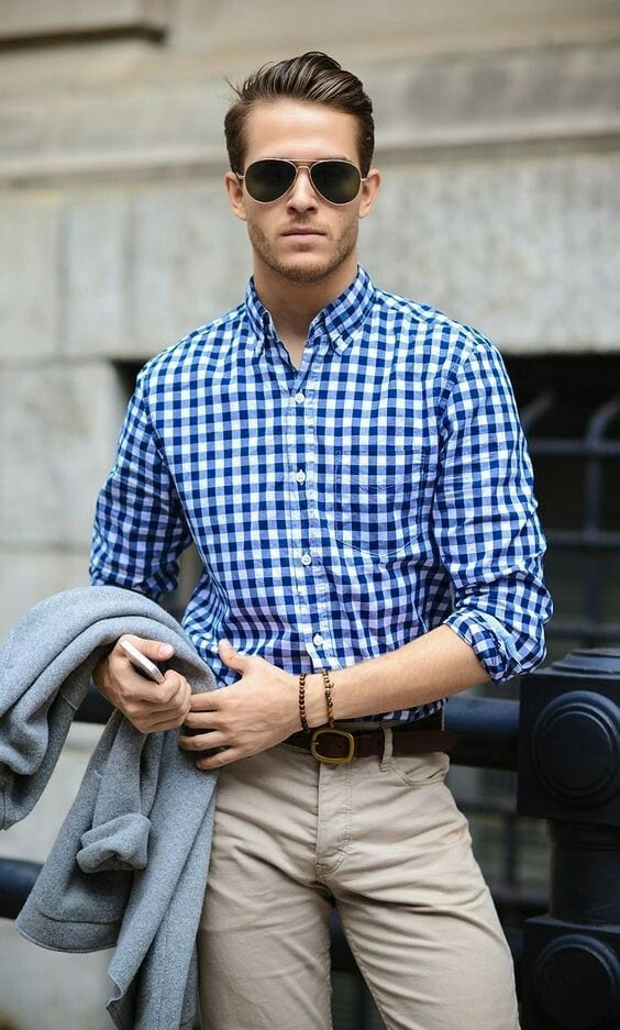 Camisas De Cuadros Hombres Men's Business Casual Outfits-27 Ideas To Dress Business