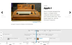 Exemple Timeline Apple