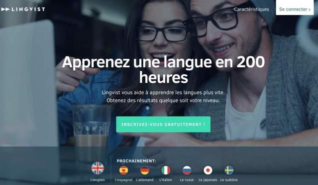 Lingvist. Apprendre une langue en 200 heures