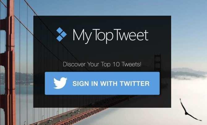 MyTop Tweets