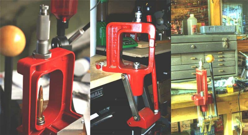 Best Reloading Press Reviews  Buying Guide in 2019 - Types of