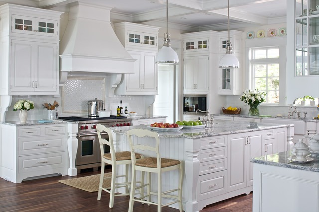White cottage farmhouse kitchens country kitchen designs for Kitchen designs and more
