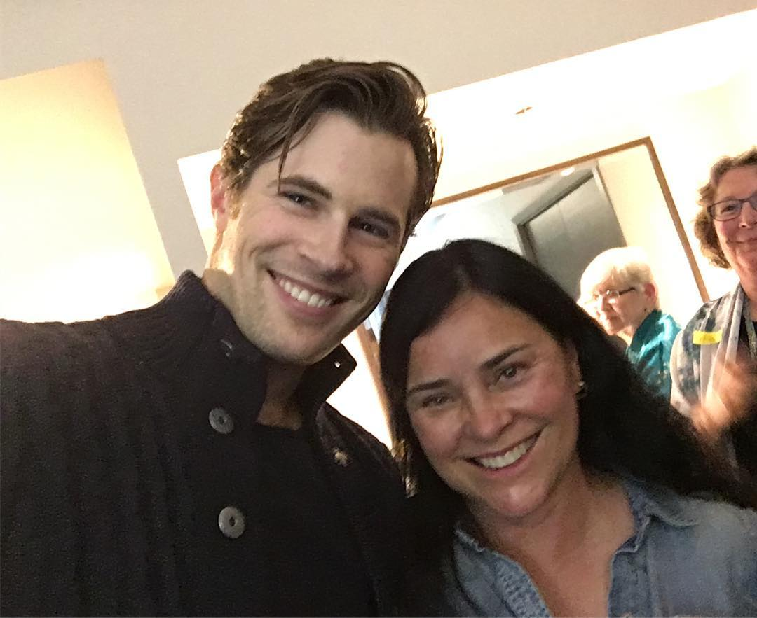 Diana Gabaldon Writer Dg Twitter New Fan Pics Of David Berry And Diana Gabaldon At
