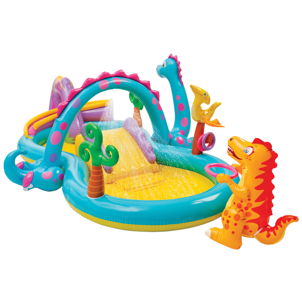 Piscina Intex Niños Piscina Tobogán Dinosaurio Intex