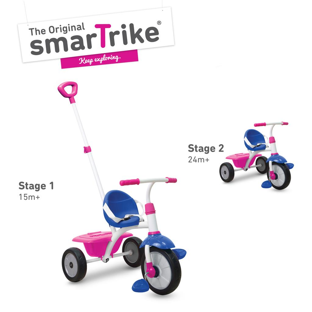 Smart Trike Roze Driewieler 2 In 1 Smart Trike Roze Outlet Shopping