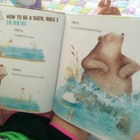 Bear and Duck Written and Illustrated by Katy Hudson