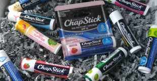 Refresh Your Dry Winter Lips & Enter to WIN a ChapStick Prize Package